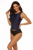 Basic Sporty Tankini Set