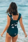 THE VICTORIA OFF SHOULDER ONEPIECE SWIMSUIT